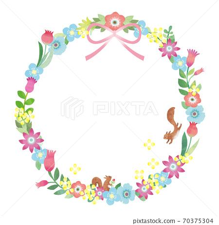 鮮花花圈 70375304