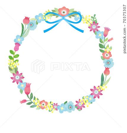鮮花花圈 70375307