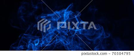 煙 藍色 背景 萬聖節 smoke background Halloween 煙 けむり バック 70384795