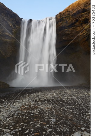 Waterfall in Iceland 70385433