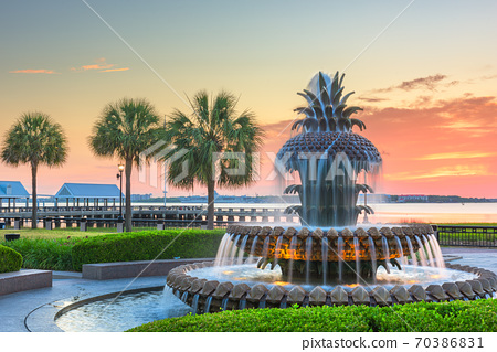 Charleston, South Carolina, USA at Waterfront Park 70386831
