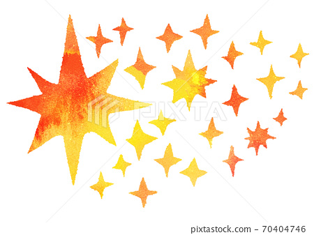 Glitter background watercolor star 70404746