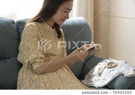 孕婦 70405204