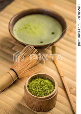 Green matcha tea 70405981