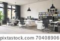 contemporary loft office 70408906