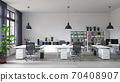 contemporary loft office 70408907