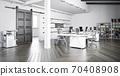 contemporary loft office 70408908