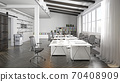 contemporary loft office 70408909