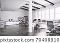 contemporary loft office 70408910
