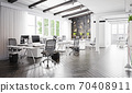contemporary loft office 70408911