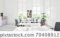 contemporary loft office 70408912