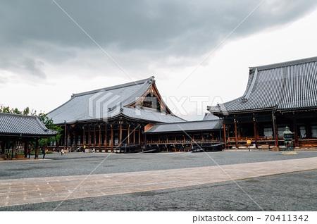 Nishi Honganji Temple in Kyoto, Japan 70411342