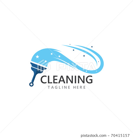Cleaning logo and symbol ilustration vector 70415157