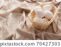 Egg in a cage 70427303