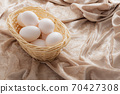 Egg in a cage 70427308