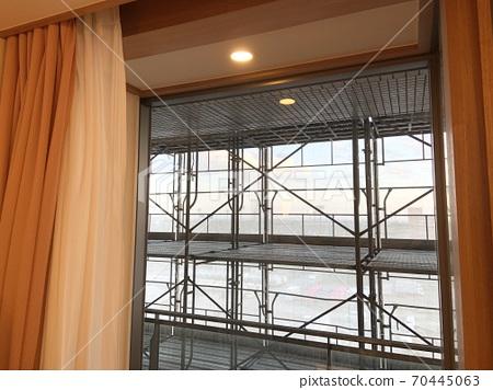 [東京海濱醫院]醫院病房(私人病房)的視野正在建設中 70445063