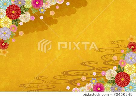 Japanese Pattern Texture 70450549