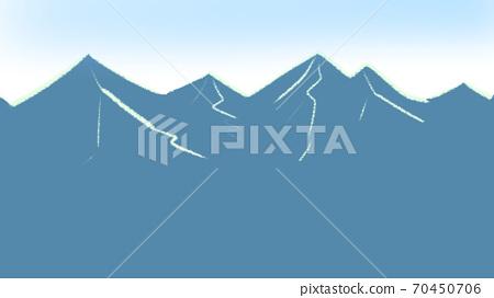 Towering morning mountains 70450706