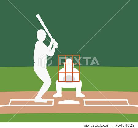 棒球打擊區左擊手 70454028