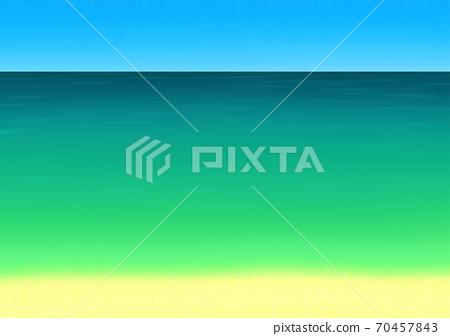 與翡翠綠海的圖像背景 70457843