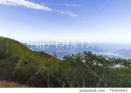 越過川口湖的風景/富士山第五站 70464605
