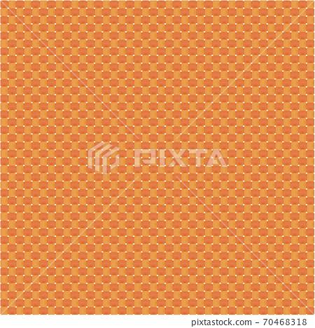 平紋紡織圖像圖,橘色經線,緯金紅,布,浴墊,日本傳統色,日本色,日本風格圖像素材 70468318