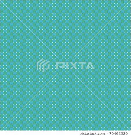 平紋織物圖像,經花綠色藍色,緯線淺綠色,布料,浴床,傳統日本色彩,日本色彩,日本風格圖像素材 70468320