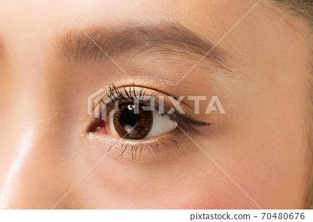 彩色触点/瞳孔特写 70480676