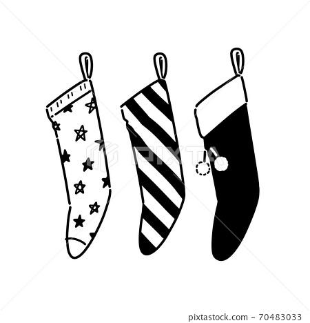 Christmas stocking decoration 70483033