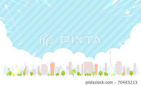 Townscape summer_en_skyline 16-9 wide 70483213