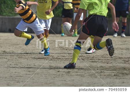橄欖球小學小學生練習場 70493059