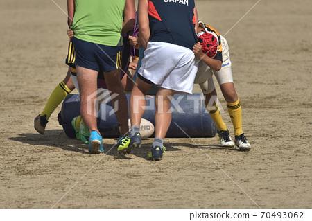 橄欖球小學小學生練習場 70493062