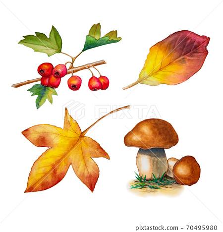Autumn watercolors 70495980