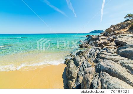 Rocks in Cala Monte Turno 70497322