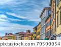 Historic buildings in Pisa Lungarno 70500054
