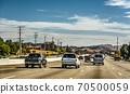 Traffic on 101 freeway northbound 70500059