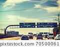 Traffic on 105 freeway westbound 70500061