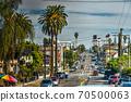 Street in downtown Los Angeles 70500063