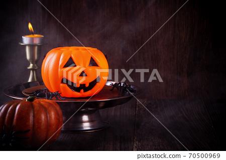 萬聖節 裝飾 裝飾品 南瓜 恐怖 概念 Halloween decor concept ハロウィン 70500969