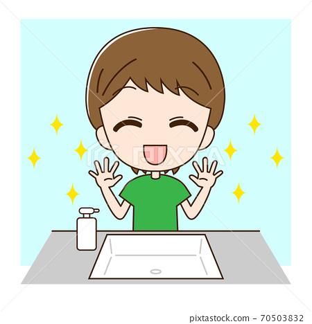 洗手男孩2 70503832