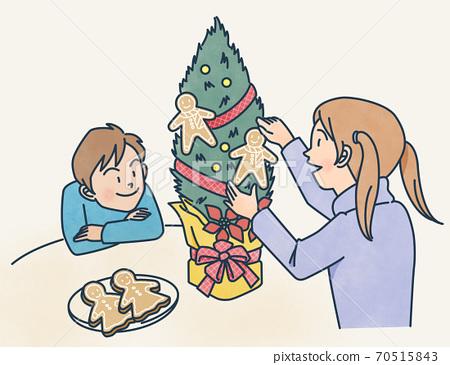聖誕裝飾品 70515843