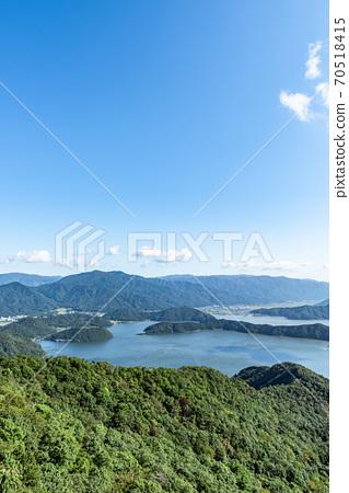 福井縣三方五子山頂公園的景色 70518415