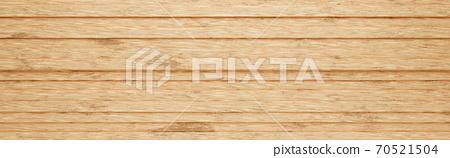 Wooden Horizontal Stripes 3D Pattern Background 70521504