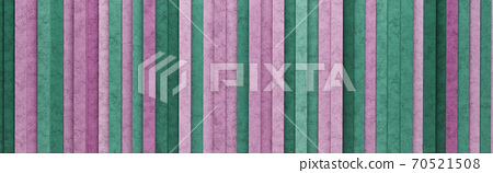 Purple and Green Vertical Stripes 3D Pattern Background 70521508
