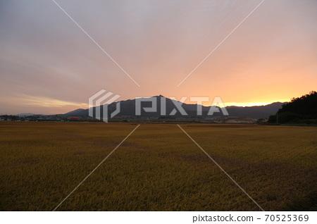 National Park, Wolchulsan, Sunrise 70525369