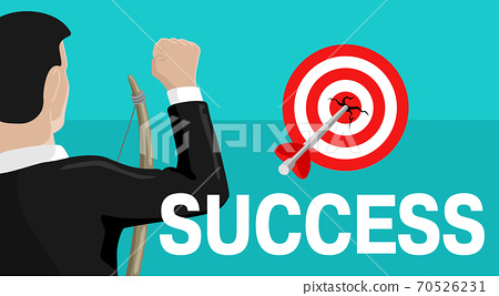 Business success vector illustration 70526231