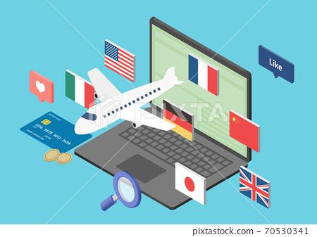 全球,進口,貿易的插圖素材 70530341