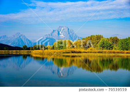 Grand Teton National Park, Mount Moran 70539559
