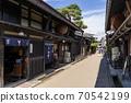 다카야마 오래된 마치 나미 세 도시 전통적 건조물 군 보존 지구 수레 仙國 70542199