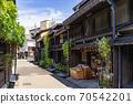 다카야마 오래된 마치 나미 세 도시 전통적 건조물 군 보존 지구하다합니다 우물 70542201